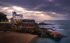 Villa Belza - Biarritz (jan.ribas) Tags: sony a7rii gmaster 2470gm longexposure biarritz villabelza sunset seaside seahouse villa