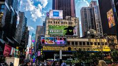 Open 24Hrs (Gordon McCallum) Tags: open24hrs timessquare broadway nyc newyork newyorkstreetscene advertisement wicked coca~cola duanereade theatercenter primeretail architecture sony sonya6000