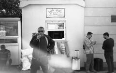 Olympus XA , Foma pan100 (Jerry501) Tags: tbilisi blackandwhite monochrome olympusxa portrait street fomapan100 bnw analog film