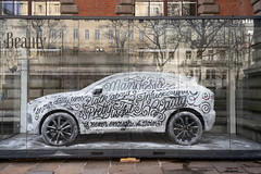 Beauty Car (scottboms) Tags: art travel analogresearchlab sagmeisterwalsh car lettering ice outdoors