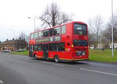 GAL WVL284 - LX59CZA - NSR - ELTHAM GREEN - SAT 19TH JAN 2019 (Bexleybus) Tags: go ahead goahead london eltham green yorkshire grey roundabout south circular se9 tfl route 321 wrightbus gemini volvo b9 wvl284 lx59cza