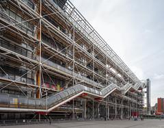 Centre Pompidou (Jack Landau) Tags: centre pompidou architecture postmodern structure building renzo piano richard rogers paris france europe eu canon 5d jack landau