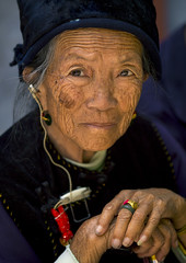 Old Woman, Xizhou, Yunnan Province, China (Eric Lafforgue) Tags: a0007391 activeseniors adult adultsonly asia bai china chineseculture colorpicture day frontview lookingatcamera onepeople oneperson oneseniorwomanonly onewomanonly onlywomen portrait realpeople senioradult traditionalclothing vertical womenonly yunnan yunnanprovince xizhou