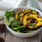 acorn Squash and Spinach Salad thumbnail