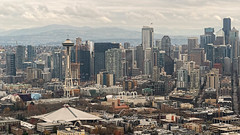 Mountains and Skyscrapers (4 Pete Seek) Tags: seattle seattlewashington downtownseattle aerial aerialphotography urban urbanphotography downtown cityscape seattlecityscape cityscapephotography sonnartfe1855 sonnar5518za sonycarlzeiss55mmf18 sonycarlzeiss55mm