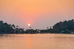 Sunset in Ko Chang, Thailand (George Pachantouris) Tags: ko chang island tropic bang bao beach palm tree coconut tropical warm summer sun