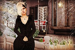 Roses in the snow (Sadystika Sabretooth) Tags: catwa collabor88 events exploration fashion gingerfish gingerfishposes lybra maitreya secondlife theliaisoncollaborative c88 earthstones ebento imaginarium tableauvivant thefourvillages theskinnery tlc
