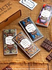 Cococlectic Box (Bitter-Sweet-) Tags: vegan food sweet dessert candy treat chocolate cocoa cacao healthy artisan singleorigin fairtrade nongmo glutenfree soyfree dairyfree treenutfree box subscription cococlectic darkchocolate gift bars