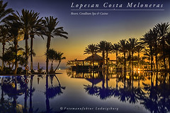 Costa Meloneras (Fotomanufaktur.lb) Tags: lopesan hotel resort grancanaria canaries kanaren maspalomas spain bluehour reflection palms water schölkopf schoelkopf