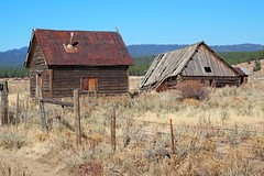 Welcome to Whitney, Oregon (Eclectic Jack) Tags: eastern oregon trip october 2018 rural agriculture farm farming autumn fall abandoned ghost town house structure home whitney forrest national wallowa