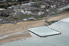 Aerial image of Margate tidal pool (John D Fielding) Tags: margate tidalpool kent summer above aerial nikon d810 hires highresolution hirez highdefinition hidef britainfromtheair britainfromabove skyview aerialimage aerialphotography aerialimagesuk aerialview drone viewfromplane aerialengland britain johnfieldingaerialimages fullformat johnfieldingaerialimage johnfielding fromtheair fromthesky flyingover fullframe
