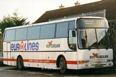Bus Eireann VC11 (94D23654). (Fred Dean Jnr) Tags: buseireann volvo b10m caetano algarve vc11 94d23654 roxborodepotlimerick december1998 eurolines buseireannlimerickdepot limerickdepot limerick