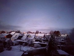 Jó reggelt! ☀️ (bika_78) Tags: jóreggelt tél hó németország morgen winter schnee tungendorf neumünster schleswigholstein deutschland morning snow germany january