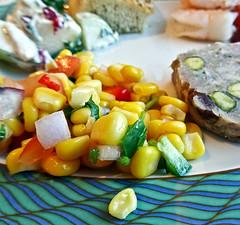 photo - Corn Salad, Seven Seas Voyager (Jassy-50) Tags: photo sevenseasvoyager voyager cruiseship regentsevenseascruises rssc lunch meal food travelingcuisine cornsalad corn salad veggies squareformat