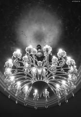 Luxury lamp (KnutAusKassel) Tags: lampe lamp bw blackandwhite blackwhite nb noirblanc monochrome black white schwarz weiss blanc noire blanco negro schwarzweiss