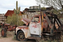 Goldfield53 (ONE/MILLION) Tags: vacation travel tours visit old history mine mining town gold goldfield arizona church railroad cross rust rusty saguaro cactus williestark onemillion horse blue sky outdoors mountains superstition lost dutchman bell flowers cowboys