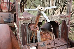 Goldfield34 (ONE/MILLION) Tags: vacation travel tours visit old history mine mining town gold goldfield arizona church railroad cross rust rusty saguaro cactus williestark onemillion horse blue sky outdoors mountains superstition lost dutchman bell flowers cowboys