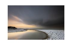 the sweet river beach (Emmanuel DEPARIS) Tags: cote dopale emmanuel deparis d850 nikon lee filter filtre audresselle clouds nuage plage neige pose longue long exposure