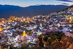 Chefchaouen Marruecos (jlmontes) Tags: luces pueblo night noche nikond7100 35mm chefchaouen marruecos morocco nocturna