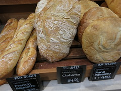Daily Colours - Our Daily Bread (Pushapoze (NMP)) Tags: bread pain pan pane piine ciabatta baguette