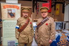 Canadian WW1 Signal Corps Uniforms (Rodrick Dale) Tags: canadian ww1 signal corps uniforms toronto ontario canada casa loma