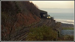 Pen- y -clip - 23rd (peterdouglas1) Tags: directrailservices penmaenmawr valleyflasks 6k41 class68 68017 fnas northwalescoast