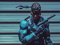 I don't have any time left for you. (3rd-Rate Photography) Tags: metalgearsolid metalgear solidsnake figma konami hideokojima videogame toy toyphotography sony dcrtrv33 handycam minidv actionfigure jacksonville florida 3rdratephotography earlware 365