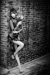 Memi (Francis.Ho) Tags: memi xt2 fujifilm girl woman female femme lady portrait people beauty pretty lips eyes hair face chinese model elegant glamour young sensuality fashion naturallight cute goddess asian daylight sunlight outdoor monochrome blackwhite bw 黑白 highheels