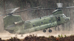RNLAF CH-47D at the Oirschotse Heide Low Flying Area (Nicky Boogaard) Tags: