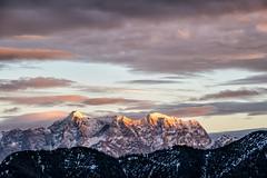 Zugspitze im Sonneuntergang (stefangruber82) Tags: alps alpen tirol tyrol mountains sunset berge sonnenuntergang alpenglühen alpenglow