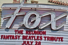 Fox Theatre, Bakersfield, CA (Robby Virus) Tags: bakersfield california ca fox theatre theater cinema movies marquee architecture historic sign signage neon