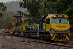 6M23N @ Martin's Creek Quarry (Electric Motive) Tags: train trains trainspotting loco locomotive freightliner
