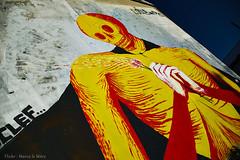 Graffiti (Marco le Méro) Tags: streetart europe france bretagne finistère brest port commerce rue street quartier red rouge paysage landschaft paisaje landscape art november autumn automne fall city ville yellow jaune tag orange camera appareil photo reflex nikon nikkor d5300 18 140 flickr otoño graffiti town