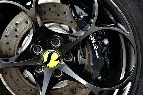 Alan Wilzig Custom Carbon  Stelvio Quadrifoglio SAUBER F1