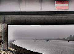 HaNSWeert (Omroep Zeeland) Tags: brug bridge binnenvaart schip kanaal zuid beveland zeeland nederland panasonic lumix