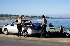 2018 09 - Audi The charge event San Francisco - roadtrip to Monterey - Asilomar - foto Miha Merljak (miha.merljak) Tags: cabrio golf pickuptruck surf surfing pacificgrove unitedstatesofamerica usa