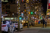 Christmas Lights on Robson Street