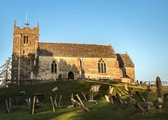 St.Bartholomew, Churchdown, Cheltenham. . (ricsrailpics) Tags: uk gloucestershire cheltenham churchdown church graveyard medieval 2018