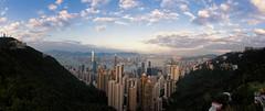 Victoria Peak, Hong Kong, China (goneforawander) Tags: hongkong pano nikon d7100 travel scenery stitched goneforawander photomerge asia panorama backpacking china enzedonline hongkongisland hk