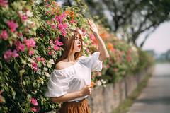 NAM02814-Edit (ngocnam23041991) Tags: portrait vietnam vietnamese afternoon beauty forest saigon hochiminh sonyalpha a7iii a7m3 sony85mmf18 fe85mmf18 tree grass flower