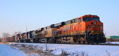 BNSF 7263, UP 7515, GECX 7353, CN 2115, CN 5620, Stroebe, Fox Crossing, 8 Dec 18 (kkaf) Tags: a447 up bnsf gecx cn es44dc es44ac c408w c408 sd70i stroebe foxcrossing leaser