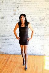 Littlest Black Dress 3 (Hannah McKnight) Tags: tgirl transgender transgirl model crossdress crossdresser stilettos littleblackdress