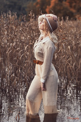 Marlyn the adventurer and explorer (Øyvind Bjerkholt (Thanks for 67 million+ views)) Tags: adventurer explorer fashion portrait artistic femaleindianajones hat looking searching curious brave young woman girl female she beautiful outdoors classy elegant wetlands 50mm dof arendal norway