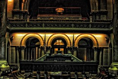 New York State Capitol ~ Albany New York ~ Senate Seating Gallery~ Historic