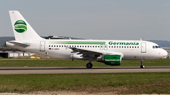 Airbus A319-112 D-ABGO Germania (William Musculus) Tags: airport spotting aviation plane airliners airplane dabgo germania airbus a319112 basel mulhouse freiburg bsl mlh eap lfsb euroairport gmi st a319100