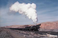 2018/2/17 JS8225 Sandaoling (Pocahontas®) Tags: js8225 steam locomotive rail train railroad railway china steamengine engine kodak kodakektar100 135film sandaoling