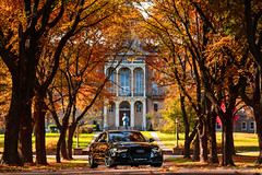 Seminary Prestige (PK's Image Links) Tags: audi c7a6 c7 a6 s6 quattro 30t milwaukee st francis automotive fall autumn leaves