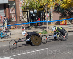 2018 TCS New York City Marathon - Women Wheelchair Lead Cyclers on Fifth Avenue in Central Harlem, Manhattan NYC (jag9889) Tags: 2018 2018newyorkcitymarathon 2018tcsnewyorkcitymarathon 20181104 5thavenue athlete bicycle bike biking chair cycling disabled fifthavenue firstplace harlem manhattan marathon ny nyc newyork newyorkcity outdoor people race racingwheelchair road runner running secondplace sport tcs tataconsultancyservices transportation tricycle usa unitedstates unitedstatesofamerica vehicle wheel wheelchair winner woman jag9889