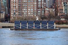 East River Barge (jschumacher) Tags: nyc rooseveltisland barge eastriver