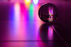 Wish you a shining 2019! (raffaella.rinaldi) Tags: sparkle shine reflections light crystal ball christmas eve new year 2019 hope joy peace colors bokeh floor